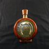 Flasque à liqueur vintage, en cuir