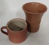 Lot de deux poteries Bonny