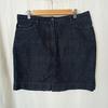 Jupe droite jean 100% coton - monoprix autreton - 44