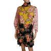 Robe Zara Woman T S  imprimé fleuri