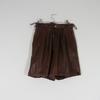 Short Femme Collection 5 de couleur marron taille 40