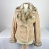 Manteau d'hiver femme ClockHouse Outerwear de couleur marron taille XL