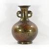 Vase asiatique en faïence émaillée