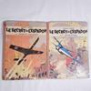 BD d'Edgar-P Jacobs Le secret de l'Espadon 1 & 2 de 1957 édition DARGAUD
