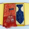 Coffret Echarpe & cravate en brocart traditionnel chinois