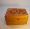 Jeu de Loto ancien avec boîte en bois