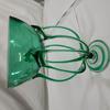 Vase en verre soufflé bouche style Murano - H 25 cm