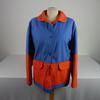 Ensemble Courrèges Hyperbole Vintage 1970 Bleu/Orange Taille A
