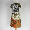Robe Lanvin à motifs fleuris de taille S
