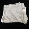Dessus de lit (couvre lit) 2 places ancien, crocheté, en coton 1.80 m * 2 m