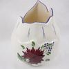 Vase / Pot à fleurs en faïence Molin Charolles