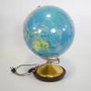 Globe lumineux en relief 45 cm hauteur