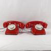 Paire de téléphones jouets pour enfant à cadran vintage