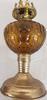Ancienne lampe à huile ou à pétrole en cuivre