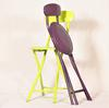 Lot de 2 chaises pliables - Assise plastique