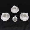 Lot de 3 tasses et 4 sous tasses en porcelaine de Limoges