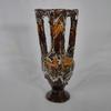 Mini vase amphore marron - Vallauris
