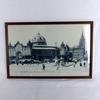 Agrandissement carte postale encadrée Toulouse