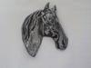 Tête de cheval en métal