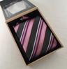 Coffret Cravate 100% soie