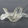 Vide poche cristal ART VANNES FRANCE façonné main.