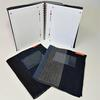 Kit rentrée scolaire zéro-déchet : 3 protège-cahiers format A4 (21*29.7 sans spirales), 100 % jean et coton recyclés