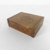Petite boîte en bois avec gravure fait main