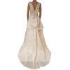 Neuf & étiquette Robe de mariée Pronovias T 38/40 en soie blanc ivoire