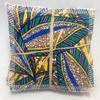 Zéro-déchet : Lot de 7 lingettes démaquillantes lavables bambou Oeko-Tex GOTS feuilles + pochon