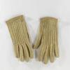 Anciens gants en crochet et cuir vintage