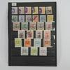 Planche de 28 timbres Postes Persannes
