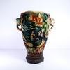 Grand vase en résine style asiatique