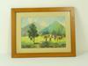 Peinture-Villages rural, Bordures de type Marie-Louise encadré