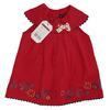 Neuf & Étiquette robe Sergent Major bébé 6 mois broderies florales