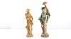 2 Statuettes Chinoises en résine