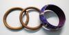 Lot de 3 bracelets en bois