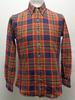 Chemise vintage à carreaux - RALPH LAUREN - Taille S