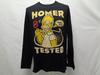 T-Shirt manches longues motif HOMER SIMPSONS - taille L