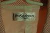 Ensemble jupe-veste rose Yves saint-Laurent en coton taille 38