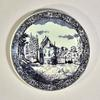 Grande Assiette Décorative - Style Delft