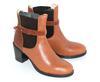 Bottines T37 marron Eva Lopez