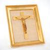 Tableau religieux en bronze ciselé