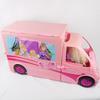 Camping car équestre transformable Barbie Mattel 2012