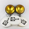 Paire de phares jaunes avec 3 protection Oscar+ CIBIE