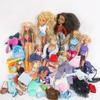 Lot de 4 poupées barbie Simba, 3 bébés, accessoires et 2 poupées Bratz