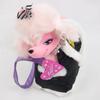 Peluche chien rose Barbie et son sac de transport Mattel 2003