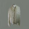 Gilet blanc cassé en laine taille approximative 36