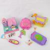 Lot de 4 boîtes Polly Pocket Bluebird 1996 1993 1998 2000