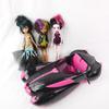 Voiture cabriolet  Monster High Draculaura Mattel 2011 et 3 poupées