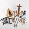 Lot de personnages et accessoires Playmobil indien Geobra année 70